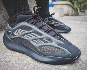 2020 Originaux Release 700 V3 ALVAH noir 700S Chaussures de sport 3M réfléchissant Glow Chaussures de course avec la boîte H67799 US 4-12