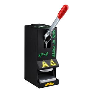 MOQ 1PC LTQ Máquina de prensa de resina de vapor KP-1 KP-2 Presión en la abrazadera Calefacción Cera portátil Hierba seca Kit de herramienta de extracción de bricolaje 100% auténtico