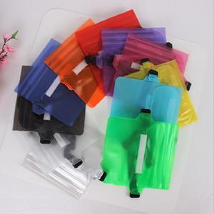 Proof Sports bolso cintura Bag Limpar Solid Color PVC transparente Celular Bolsa de armazenamento de água Waistpack Fit Piscina Equipamentos 2 8MK E19