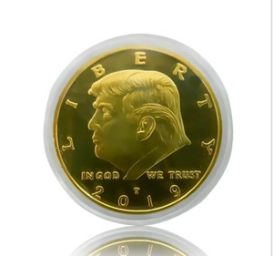 Trump Speech Commemorative Coin America President Trump 2020 2019 Collection Coins Crafts Trump Keep America Great Coins A458