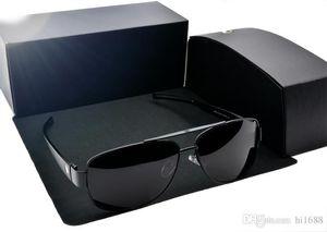 Top quality MB618 Brand designer Polarized Sunglasses men women Polit sun glasses metal framen Sport Driving glasses with Retail cases