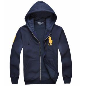 2019 nouvelle vente chaude vestes Big Horse polo Hoodies et sweatshirts automne hiver casual avec une veste sport hoodies hommes