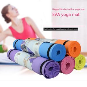 183 * 61 * 1cm pieghevole Ginnastica Mat Yoga Esercizio Mat antiscivolo Lose Weight impermeabile Sport Fitness a prova d'umidità Pad FY6017