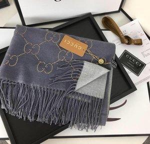 2020 nouvelle automne / cachemire marque d'hiver châle foulard, dames de luxe à la mode lettre élégante écharpe cadeau écharpe de marque