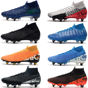 Große Diskont Mercurial Superfly 7 Elite SG-PRO AC Neymar Ronaldo Männer Fußballschuh Günstigste Fußball-Schuhe der Männer bester Fußballschuh