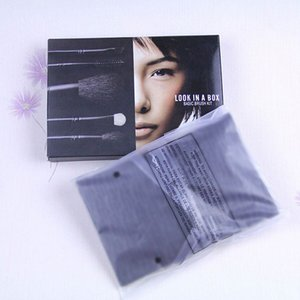 Haute qualité M Rechercher dans une boîte Kit de pinceaux de base REGARDER UNE BOÎTE Pinceaux de maquillage avec boîte de vente au détail 4pcs / set 5pcs / set