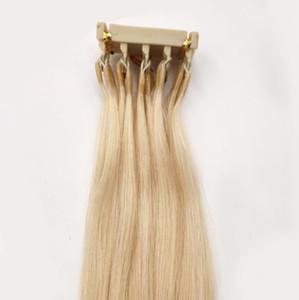 Новый продукт Micro Loop 6d наращивание волос кутикула выровненные девственные волосы могут быть настроены для Hightlights Hair Connector Salon Tools 14-28inch