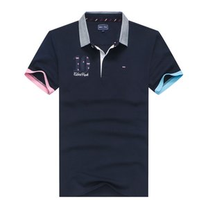 doxvhd Best selling Polo Shirt Men Summer Brand Men Polo Shirt Cotton Short Sleeve Polos Homme Embroidery Tops Tees Clothes T200530