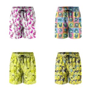 Mens Swim Trunks Princess Bubblegum Pink Gum Golem Candy Athletic Shorts Beach Board Summer Swimwear Beemo BMO Video Game Console Earl a