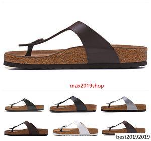 Mayari Arizona Gizeh designer flip flops summer Men Women flats Cork slippers print mixed Beach sandals fur slides 34-46