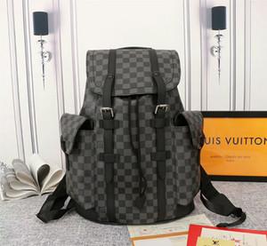 2020 moda couro mochila laptop bolsa de viagem sacos de escola preto dos homens para adolescentes de alta qualidade Mulheres mochilas s 010502
