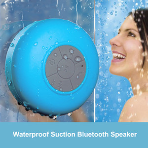 Portable Subwoofer Waterproof Shower Speaker Wireless Bluetooth Handsfree Receive Call Music Suction Mic For iPhone Samsung