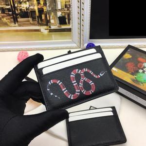 Top Qualität Karteninhaber 2020 Mode Neue Designer Männer Mode Brieftaschen Hohe Qualität Kleine Geldbörsen Kartenhalter mit Box