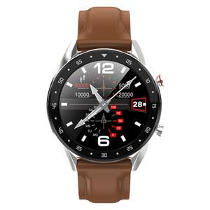 Akıllı İzle L7 Bluetooth çağrı reloj inteligente Spor Izci kalp hızı kan basıncı Smartwatch su geçirmez IOS Android Için