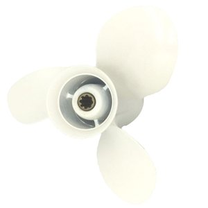 9 1 / 4x11 J 9.9-15-20HP 3 aluminio de la lámina 8 Spline Propeller Prop Para Yamaha