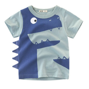 Boys Designer T-shirts Kids Tshirts Summer Fashion Handsome Baby Clothes Boy Short Sleeves T Shirts Child Luxury Tees Tops New Clothing