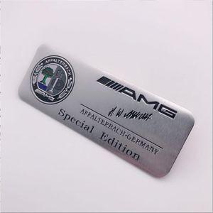 메르세데스 - 벤츠 사과 나무 알루미늄 스티커 AMG 알루미늄 스티커 몸 스티커 장식 자동차 로고