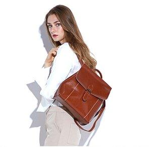 Design di marca in vera pelle estate nuovo arrivo Fashion Print zaino scuola borsa unisex zaino borsa da viaggio femminile ST ARK ZAINO