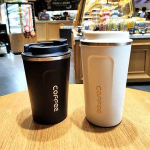 aço inoxidável duplo Caneca espessamento Caneca do carro grande viagem Thermo Cup Thermosmug Presentes 510 / 380ml Flask