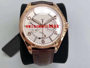 TW usine FIFTYSIX Montre de luxe CNC 18k montre d'affaires en or rose suisse 2475 Sapphire Automatique mécanique Affichage de la date Réserve de marche