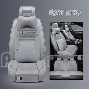 cubierta de asiento de coche automática interna accesorios de protección 2020 estilo universal para cojín de asiento universal del carro del sedán de lujo SUV de lino