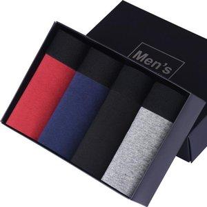 New Europe Size Boxer Men Underpants Cotton Shorts Men'S Boxer Gay Underwear Trunks Panties Boxershorts Men Plus Size M L XL XXL