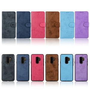 For iPhone 11 Pro Xs Max Wallet Case Luxury PU Leather Magnetic 2in1 Detachable Phone Case with Card Slots for Samsung Note10 S10