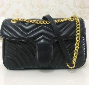 Hohe Qualität Berühmte Marke designer Umhängetasche Pu Leder Mode Kette Tasche Cross body Reine Farbe Weibliche Frauen Handtasche Umhängetasche