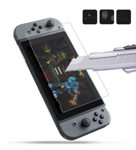 For Nintendo Switch Tempered Glass HD Anti-Scratch Glass Screen Protector 500pcs lot