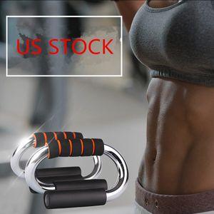 미국 주식은, 카본 스틸 푸시 업 보드 푸시 - 업 건물의 가슴 근육 체육관 피트니스 트레이닝 장비 운동 FY7088에 대한 바 스탠드