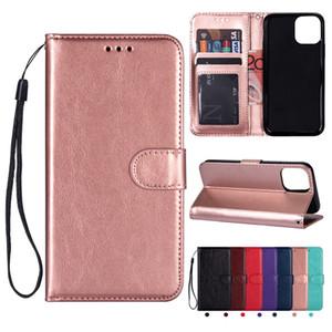 Porte-monnaie en cuir flip carte photo Frame Case Slot pour iPhone 11 Pro Max XR XS X 8 7 6 Samsung S9 plus S10 5G S10E Note 10 10+ A10 A30 A50 A70