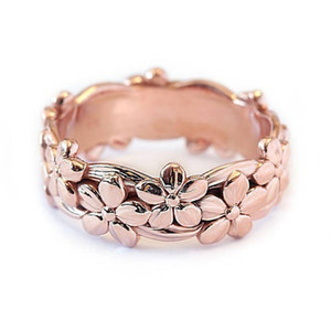 Female Cute Daisy Flower Finger Ring Vintage Rose Gold Color Engagement Rings For Women Fashion Wedding Jewelry Best Gift