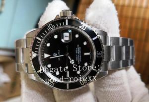 Orologi BP fabbrica Mens Top Uomo Vintage automatico ETA 2836 Movimento della vigilanza degli uomini Lega Lunetta Dive 16610 perpetuo svizzero polso Gift Box