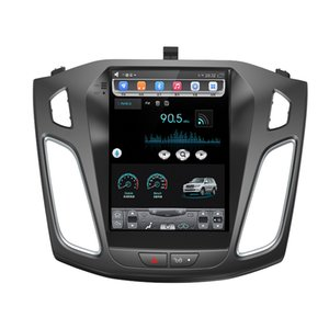 HD 10.4 pouces IPS Android Octa Core 2 Go de RAM + 32 Go ROM Lecteur DVD de voiture pour Ford Focus 3 2012 -2017 GPS Radio Radio Stéréo