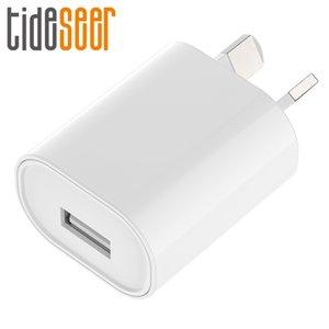 삼성 애플 아이폰에 대한 SAA C-틱 인증 USB 전원 어댑터 5V 1A 호주 뉴질랜드 AU 플러그 벽 충전기 단일 USB
