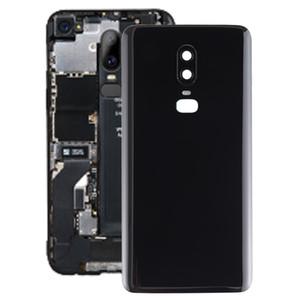 De superficie lisa de la batería cubierta trasera para OnePlus 6