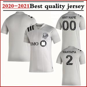 2020 2021 Erkekler Montreal Impact Futbol Formalar 19 20 Birincil Otantik PIATTI PIETTE Taïder Urruti Sagna futbol forması