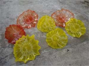 New Arrival Style Murano Glass Plate High Quanlity Hand Blown Glass Art Lamps