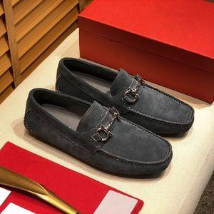 Bottoms luxury designer brand chaussures mens dress formal shoes Genuine Leather men Red Bottom Designers man lazy falts Loafers