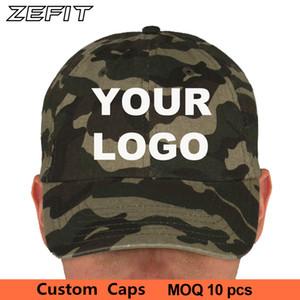 Spor kap özel birlikleri kuvvetler kamuflaj ordu renk kamuflaj kap golf tenis güneşlik takımı moda şapkaya beyzbol şapkası özel baba şapkası