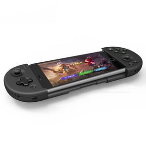 doppelseitige gezogen Handys Gamepad drahtlosen Bluetooth-Game-Controller für Android-Handy / ios / PC Windows / TV Box / PS3, schwarze Farben