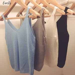 Women Casual Cropped Top Ladies Sexy V Neck Knitted Tank Hollow Out T Shirt Casual Shirt 11 Colors