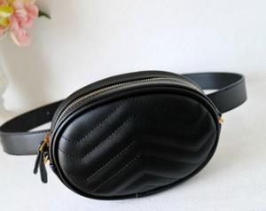 Bayanlar marka cepler marka lüks omuz çantası moda deri çanta Messenger Çanta Göğüs çanta cüzdan Bel Çantaları 18 * 11 * 5 cm