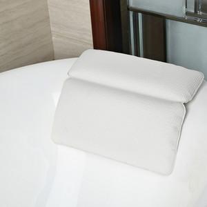 Antideslizante Inicio bañera de hidromasaje apoyo para la cabeza del amortiguador ecológicos potentes ventosas de PVC Bañera de hidromasaje almohadas
