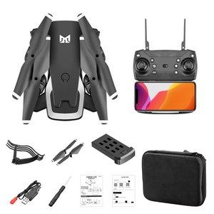 Doppia fotocamera professionale Drone 4K HD GPS pieghevole velivoli di RC WIFI FPV 20mins Quadcopter giocattoli per bambini all'aperto KK6 Nuove Boy Toys Helicopt