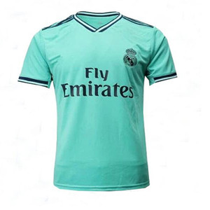 Real Soccer Jersey Madrid SERGIO RAMOS blau GEFAHR 7 GEFAHR MODRIC 10 BENZEMA MARCELO Fußball-Hemd ASENSIO ISCO JOVIC SDCE maillot de foot
