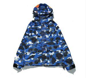 Mens Shark Hoodie Männer Frauen Mode Harajuku Cool Fun Reflektierende Licht Sweater-Jacke WGM Full Zip Hoodie Fleece Cardigan Sweatshirts