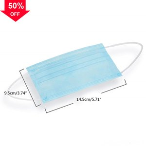 W0V5m In stock DHL FedEx Free shipping Disposable mascherine 3-Layer reusable Face mask safety Masks anti dust Home Use Com