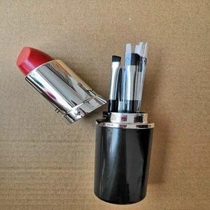2019 nouveau maquillage Marque Look In A Box Basic brosse 4pcs / pinceaux set set avec Big Rouge à lèvres Shape Holder Maquillage bon article