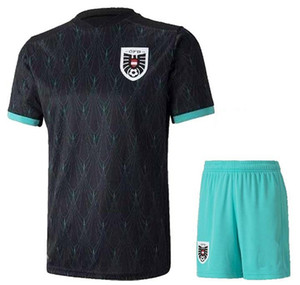 2020 Autriche Soccer Jersey Hommes + Chemises Enfants Football et Shorts 20 21 Alaba Sabitzer Grillitsch Football Kits adultes Uniformes Football